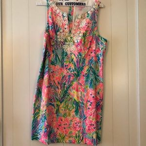 Lilly Pulitzer Dress - Neon Pops of Fun!!